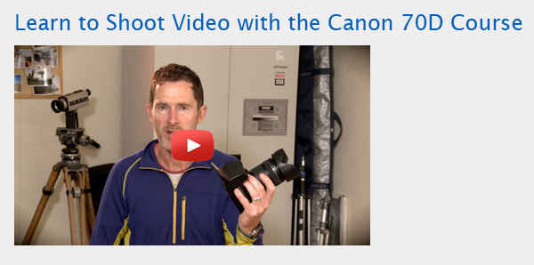 Learn-to-shoot-video-with the Canon 70D course-icon