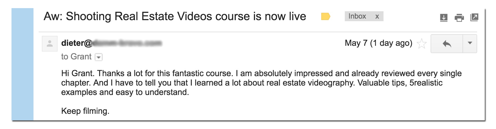 How to Shoot Real Estate Videos course