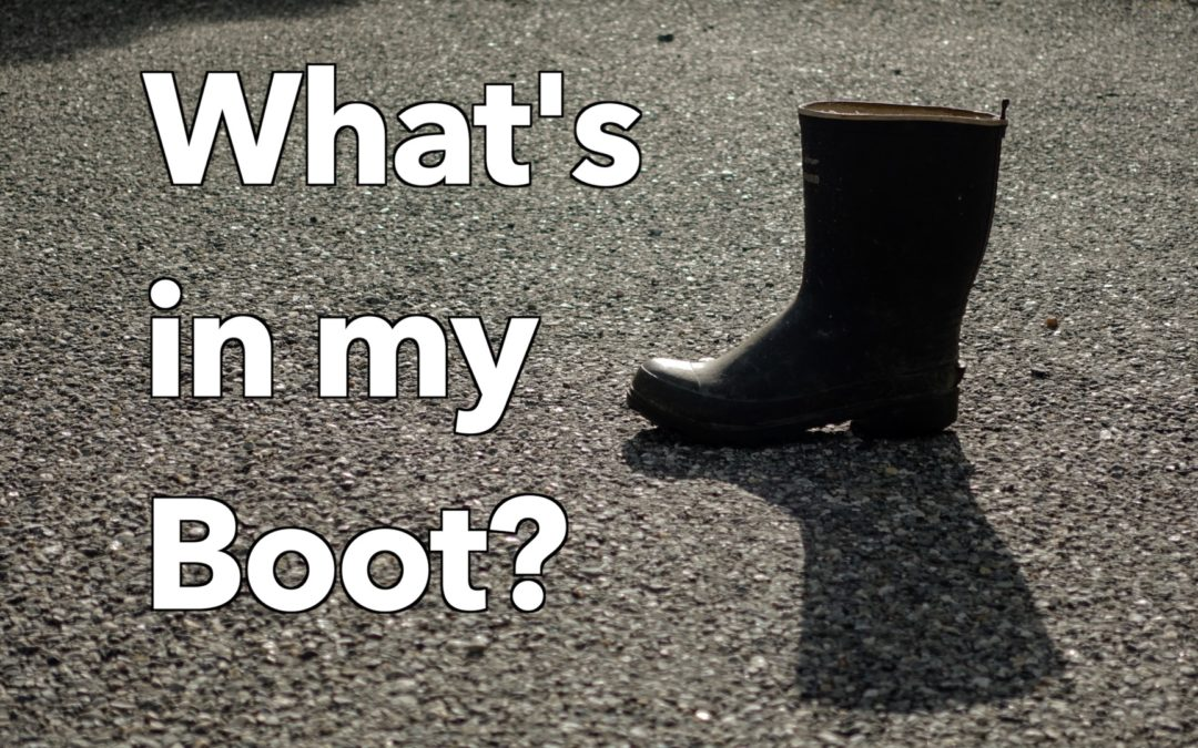 What's in my Boot?