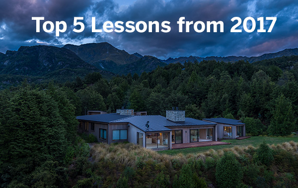 Top 5 Lessons learn't from Shooting Real Estate Video in 2017
