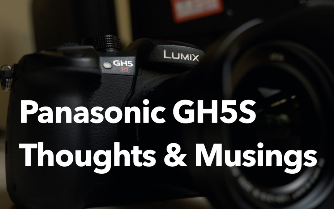 Panasonic GH5S – Thoughts and Musings