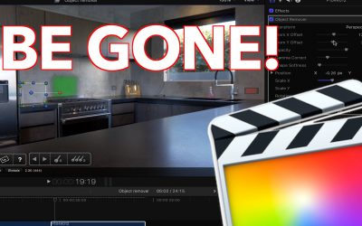 Tracking and Removing unwanted objects in FCPX