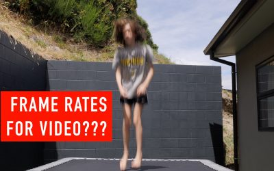 Camera Frame Rates for Shooting Video