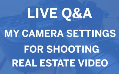My Camera Settings Facebook Live Q&A
