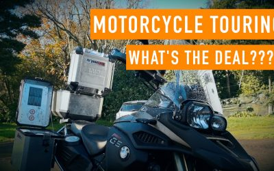Motorcycle Touring – What's the Deal???