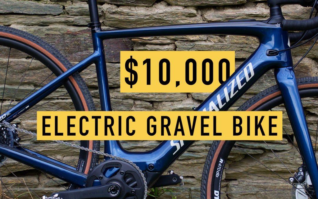 $10K Electric Gravel Bike – Specialized Turbo Creo SL