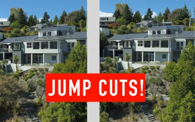 Avoiding Jump Cuts in Real Estate Video