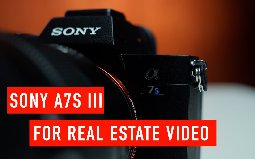 Sony A7S III for Shooting Real Estate Video vs Panasonic GH5